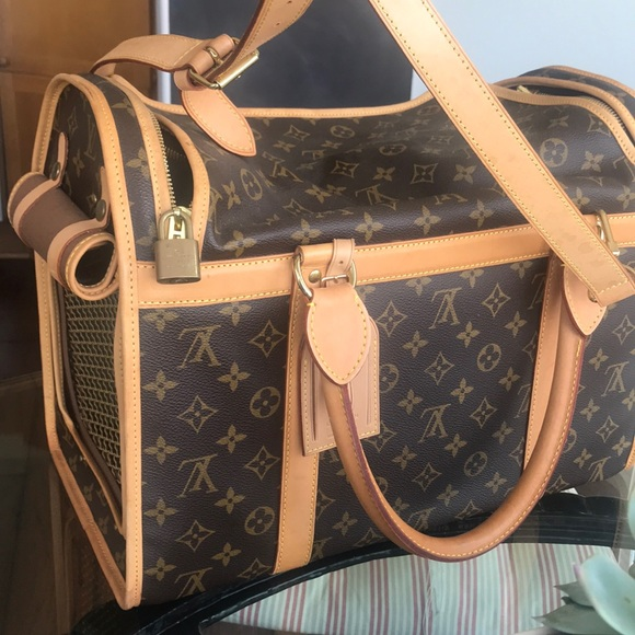 fa0e69ec191 Louis Vuitton Accessories - Louis Vuitton dog carrier!